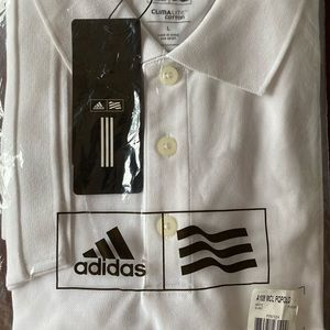 Brand New Adidas Climalite Polo Shirt.  Size Large